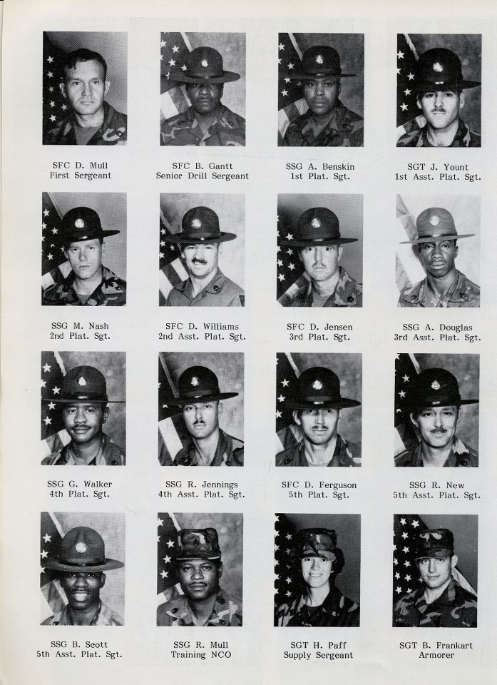 Basic Training Photos >> Fort Sill, Oklahoma Third Battalion Battery A 1984